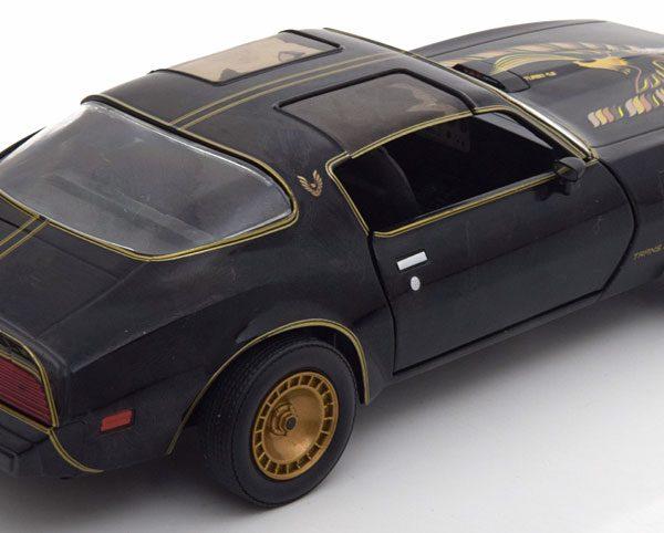 "Pontiac Trans Am 1980 ""Smokey and the Bandit II"" 1-24 Zwart Greenlight Collectibles"