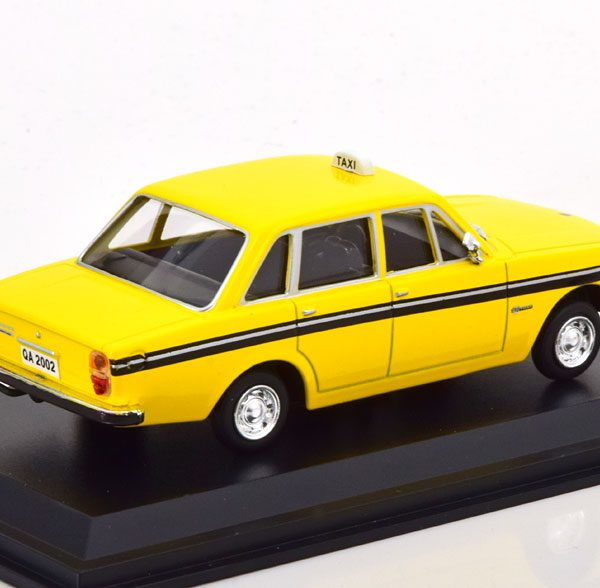 Volvo 144 Stockholm Taxi 1970 Geel 1-43 Altaya Taxi Collection