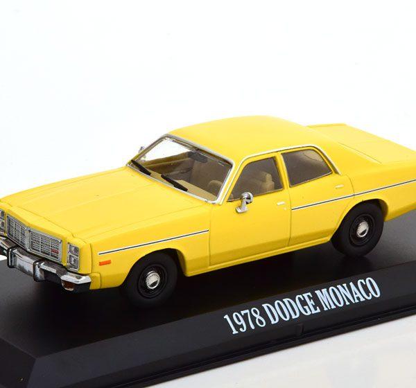 "Dodge Monaco ""The Greatest American Hero"" 1978 Geel 1-43 Greenlight Collectibles"