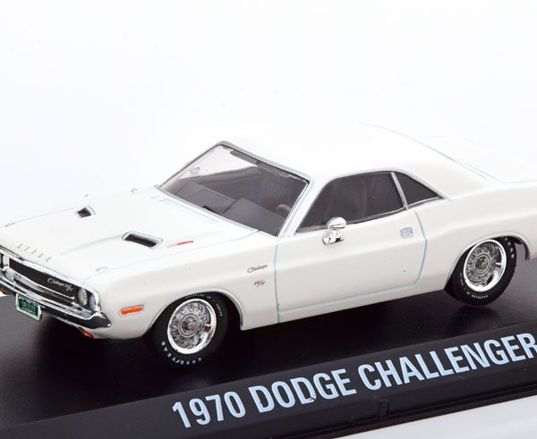 "Dodge Challenger R/T 1970 ""Vanishing Point"" Wit 1-43 Greenlight Collectibles"