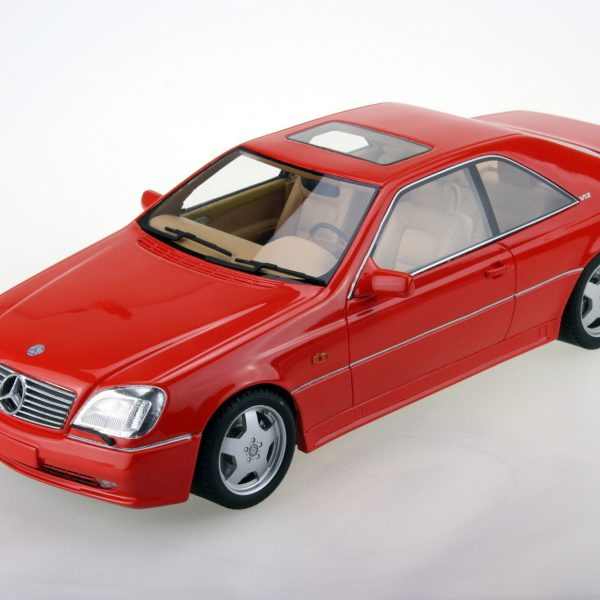 Mercedes-Benz AMG CL600 7.0 Coupe Rood 1-18 LS Collectibles Limited 250 Pieces
