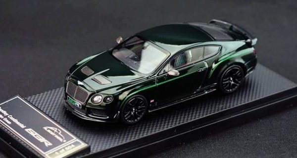 Bentley Continetal GT3-R 2015 Cumbrian Green China Edition 1-43 Almost Real