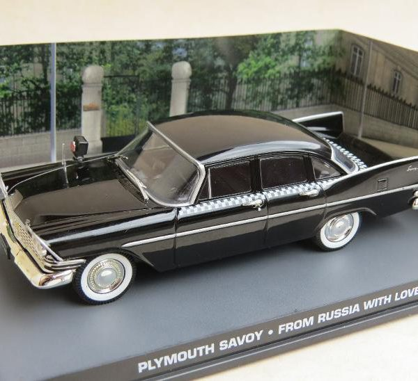"Plymouth Savoy James Bond ""From Russia With Love"" 1-43 Altaya James Bond 007 Collection"