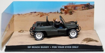 "Volkswagen Buggy GP Beach James Bond ""For Your Eyes Only"" 1-43 Altaya James Bond 007 Collection"