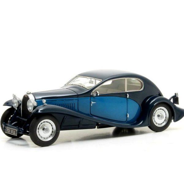 Bugatti T46 Superprofile Coupe 1930 Blauw 1-43 Matrix Scale Models Limited 408 pcs.