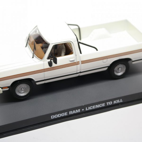 "Dodge Ram James Bond ""Licence To Kill"" 1-43 Altaya James Bond 007 Collection"