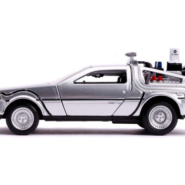 "De Lorean Time Machine ""Back To The Future II "" 1/32 Jada Toys"