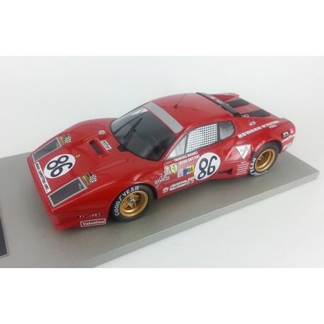 "Ferrari 365 GT 4B #86 IMSA 24 Hrs Le Mans 1978 ""Nart"" Rood Migault / Guitteny 1-18 Tecnomodel Limited 150 Pieces"