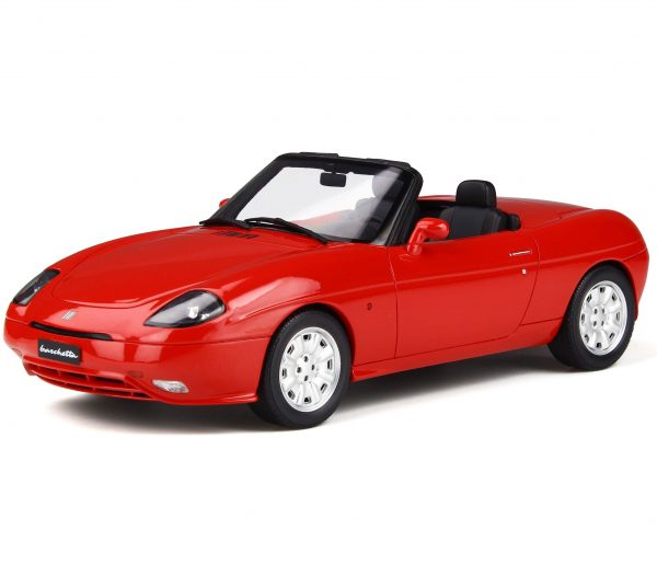 Fiat Barchetta 1995 Rood 1-18 Ottomobile Limited 999 Pieces