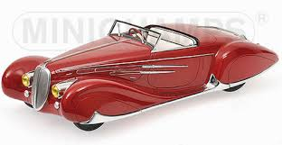 Delahaye Type 165 Cabriolet 1939 Rood 1-18 Minichamps The Mullin Automotive Museum Collection Limited 1002 pcs.