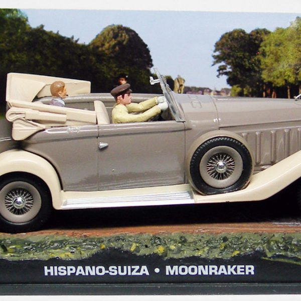 "Hispano-Suiza James Bond ""Moonraker"" 1-43 James Bond 007 Collection"