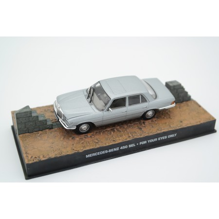 "Mercedes-Benz 450 SEL ( W116) James Bond ""For Your Eyes Only"" 1-43 Altaya James Bond 007 Collection"