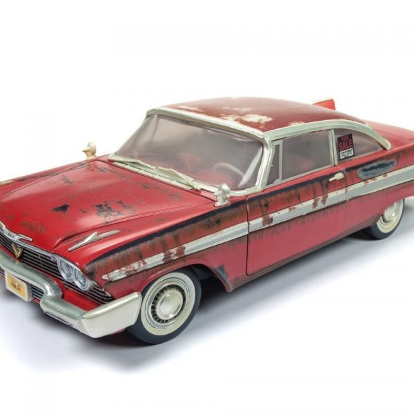 "Plymouth Fury 1958 ""Christine"" Dirty Version 1-18 Ertl Autoworld"
