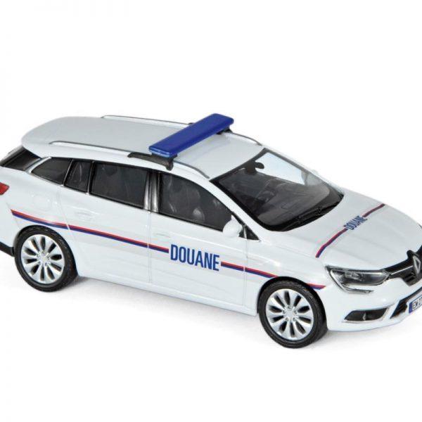 Renault Megane Estate 2016- Douanes Wit 1-43 Norev