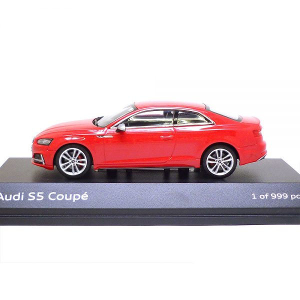 Audi S5 Coupe 2016 Misano Red 1-43 Paragon Models