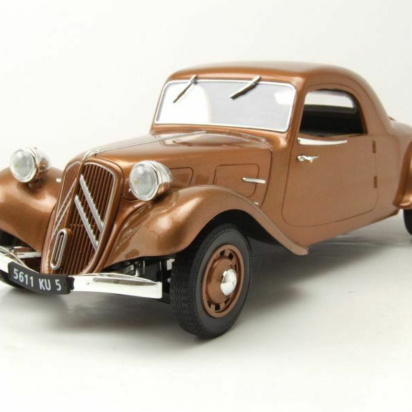 Citroen Traction Avant 11B Coupe 1939 Bruin 1-18 Norev