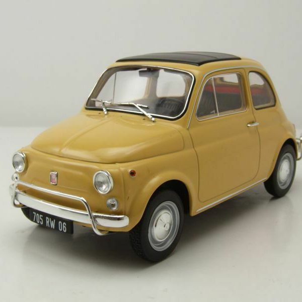 Fiat 500 L 1971 Tahiti Yellow 1-18 Norev