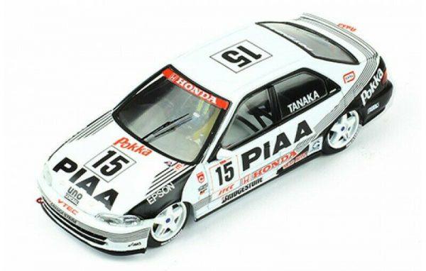 Honda Civic EG9 #15 JTCC 1994 T.Tanaka Wit / Zwart 1-43 Ixo Models