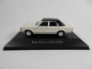 Ford Taunus GXL ( 1974 ) Wit 1-43 Atlas