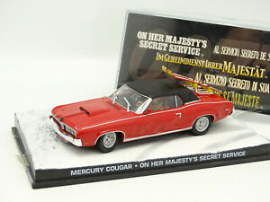 "Mercury Cougar James Bond ""On Her Majesty's Secret Service"" 1-43 Altaya James Bond 007 Collection"