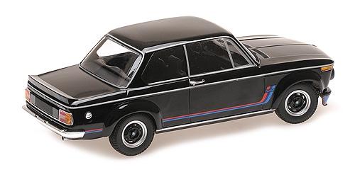 BMW 2002 ( E20 )Turbo 1973 Zwart 1-18 Minichamps Limited 300 Pieces