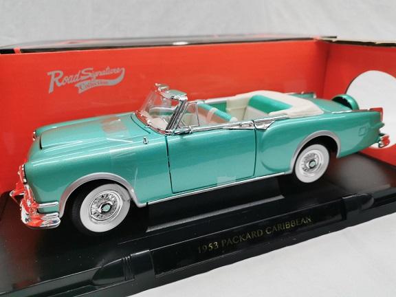 Packard Caribbean 1953 Convertible 1953 Groen Metallic 1-18 Lucky Diecast