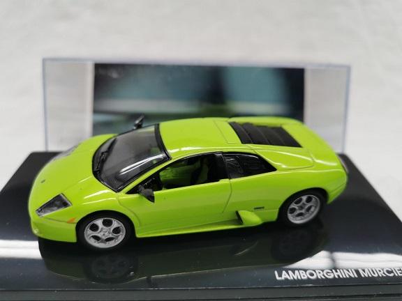 Lamborghini Murcielago Groen 1-43 Altaya Lamborhini Collection