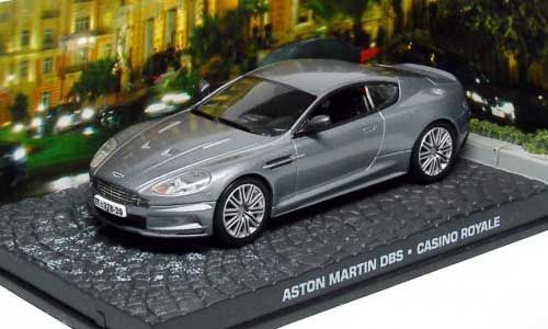 "Aston Martin DBS James Bond ""Casino Royale"" Grijs 1-43 Altaya James Bond 007 Collection"