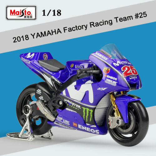 Yamaha YZR-M1 #25 MotoGP 2018 Maverick Viñales 1:18 Maisto