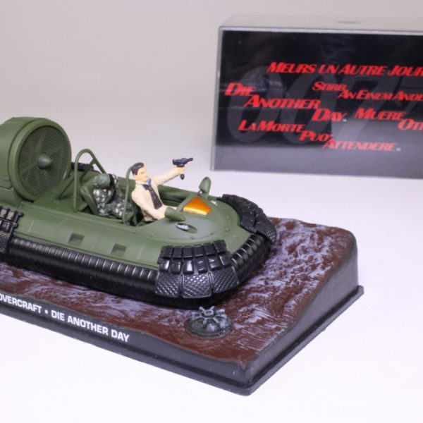 "Hovercraft James Bond ""Die Another Day"" 1-43 Altaya James Bond 007 Collection"