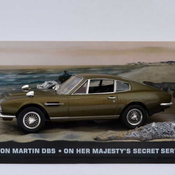 "Aston Martin DBS James Bond ""On Her Majesty's Secret Service"" 1-43 Altaya James Bond 007 Collection"