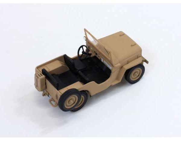 Jeep Willy's CJ3B 1953 Sand Beige 1-43 Triple 9 Collection Limited 600 Pieces
