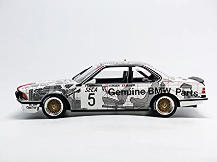 BMW 635 CSI Nr# 5 BMW Belgium Winner Spa 24 Hrs 1985 Ravaglia / Berger / Surer 1-18 Minichamps Limited 1002 Pieces