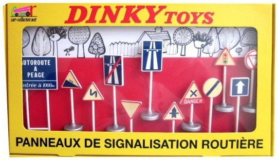 Coffret 12 Panneaux 1-43 Dinky Toys ( Atlas )