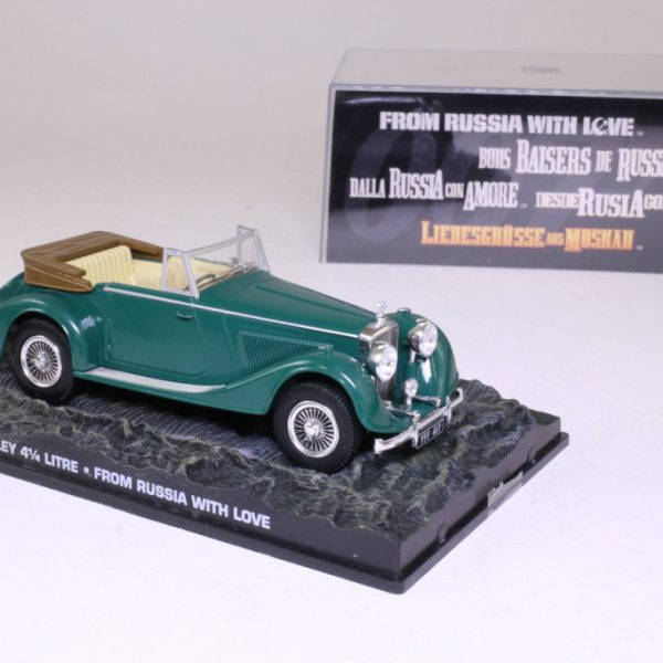 "Bentley 4 1/4 Litre James Bond ""From Russia With Love"" Groen 1-43 Altaya James Bond 007 Collection"
