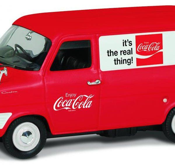 "Ford Transit MK1 1970's ""Coca Cola"" 1-43 Corgi"