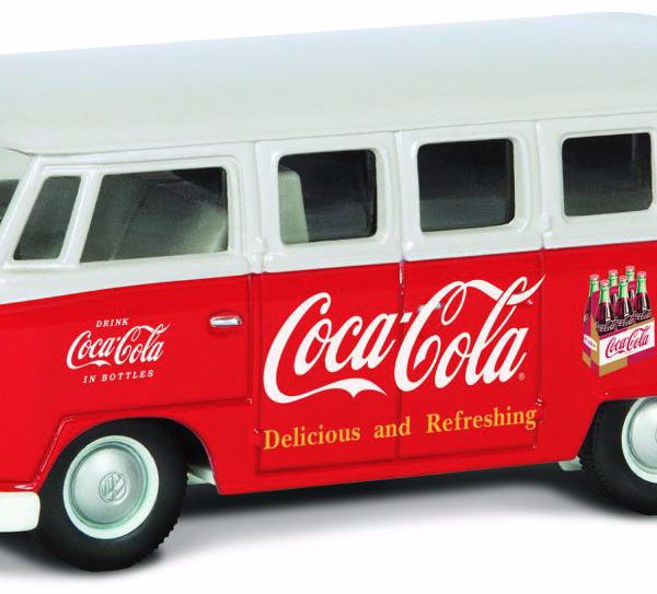 "Volkswagen T1 Bus Campervan 1960's ""Coca Cola"" 1-43 Corgi"