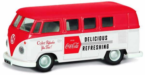 "Volkswagen T1 Campervan 1960 Late Version ""Coca Cola"" 1-43 Corgi"