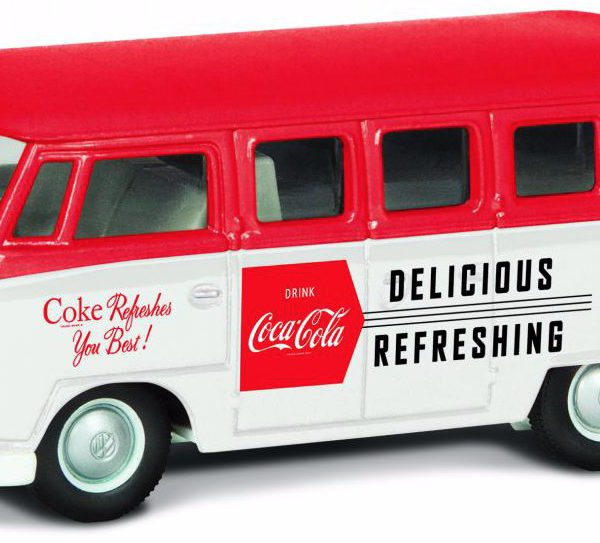 "Volkswagen T1 Campervan 1960 Late Version ""Coca Cola"" 1-43 Corgi"