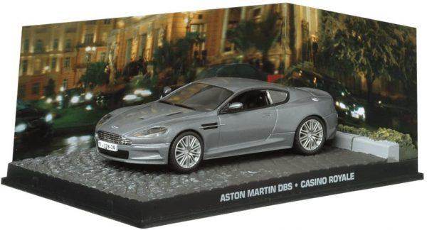 "Aston Martin DBS James Bond ""Casino Royale"" Grijs 1-43 Altaya James Bond 007 Collection"