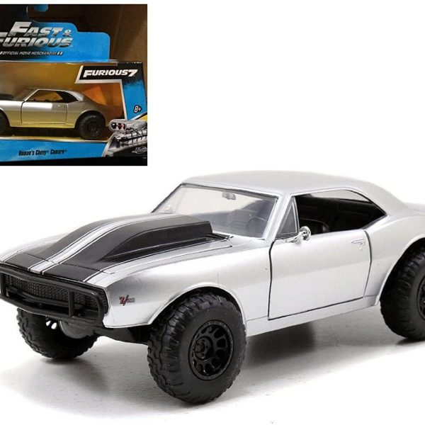 "Chevrolet Camaro Roman's ""Fast & Furious 7"" Zilver 1-32 Jada Toys"