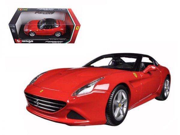 Ferrari California T ( Closed Top ) Rood 1-18 Burago