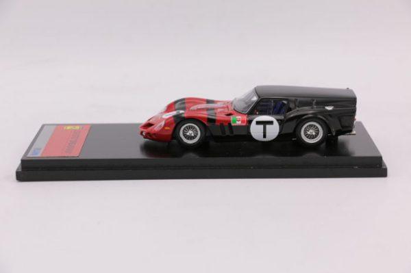 "Ferrari 250 GTO ""Drogo"" Breadvan 1962 Zwart / Rood 1-43 Fujimi"