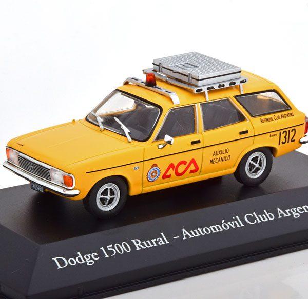 "Dodge 1500 Rural ""Automo´vil Club Argentino"" 1978 Geel 1-43 Altaya"