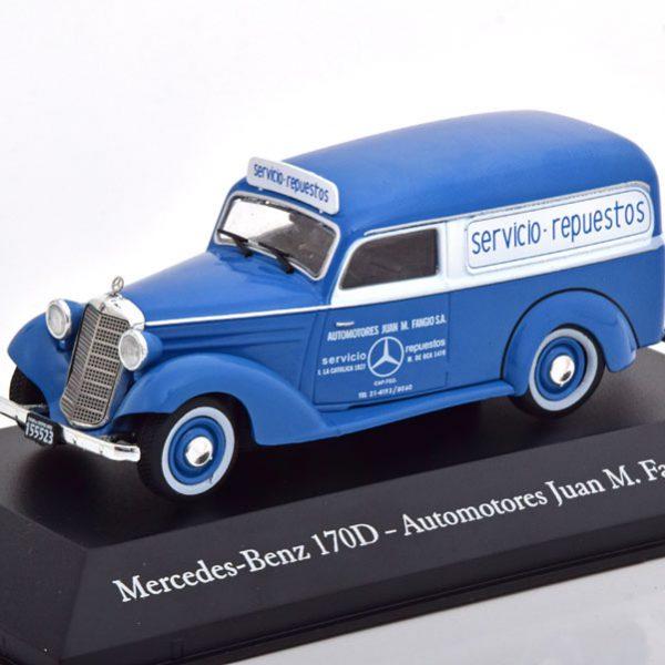 "Mercedes-Benz 170D ""Automotores Juan M. Fangio"" 1954 Blauw 1-43 Altaya"