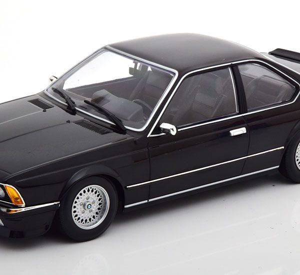 BMW 635 CSi 1982 Zwart Metallic 1-18 Minichamps Limited 504 Pieces