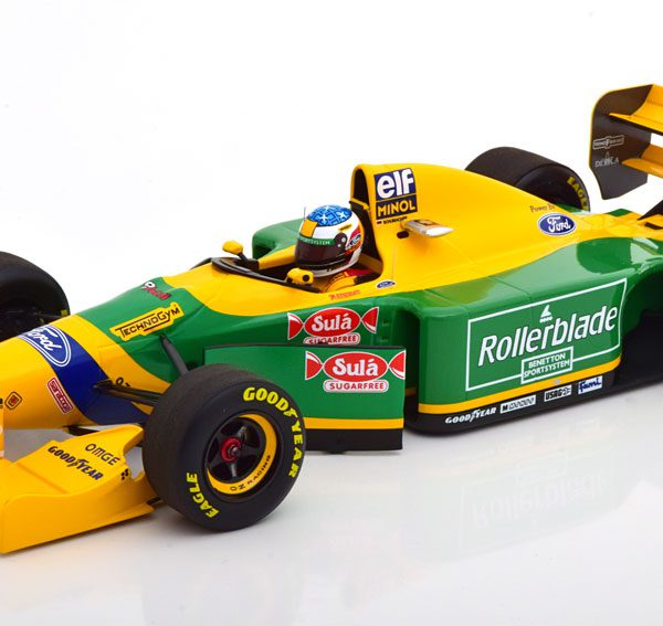 Benetton Ford B193B GP Canada 1993 M.Schumacher 1-18 Minichamps Limited 300 Pieces