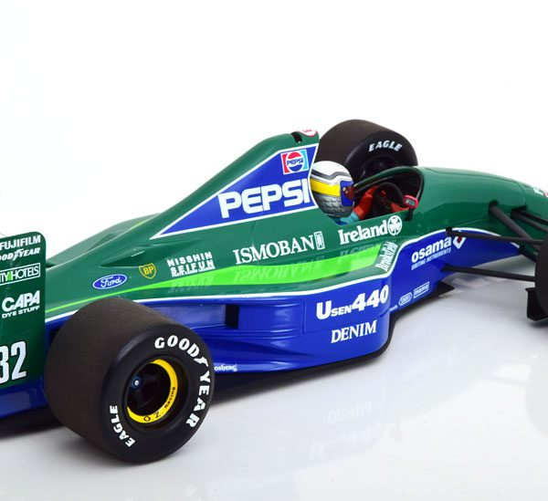Jordan Ford 191 GP Japan 1991 A.Zanardi 1-18 Minichamps Limited 204 Pieces