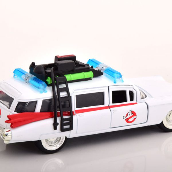 "Cadillac Ecto 1 ""Ghostbusters"" 1959 Wit / Rood 1-32 Jada Toys"