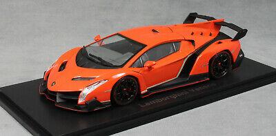 Lamborghini Veneno 2014 Oranje / Rood 1-43 Kyosho